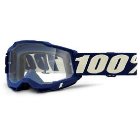 100% Accuri Anti-Fog Goggles Gen2, deepmarine/clear